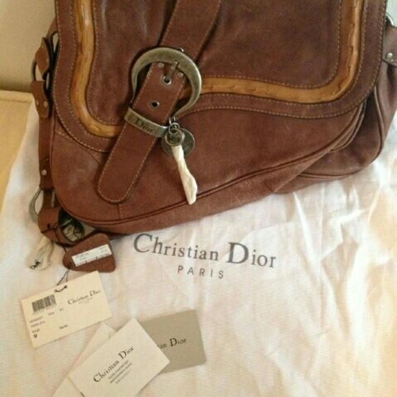 1501077d59d8 Christian Dior Gaucho Double Saddle Bag