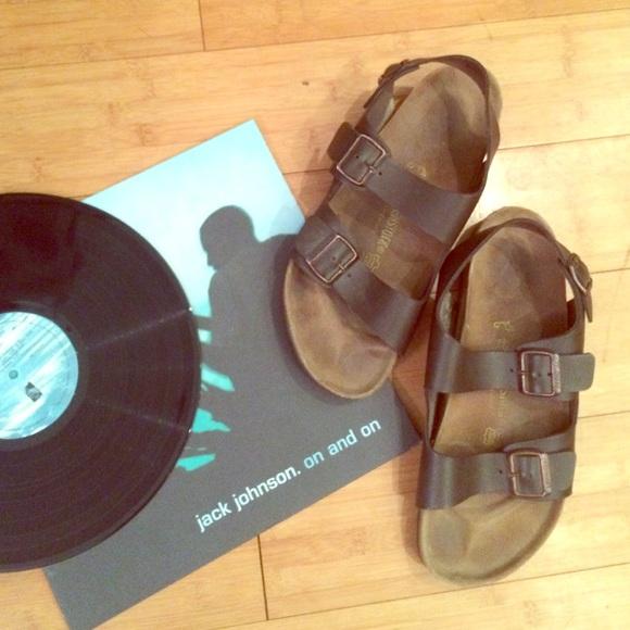 c2a669d56cf21 Men's Birkenstock Milano sandals