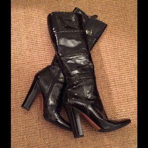 Alaia Shoes - ALAIA BLACK BOOTS