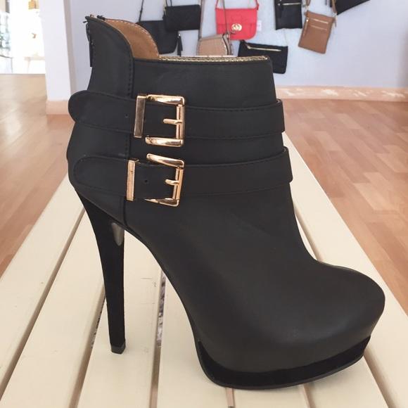 3abf3da7134 Black Booties 5