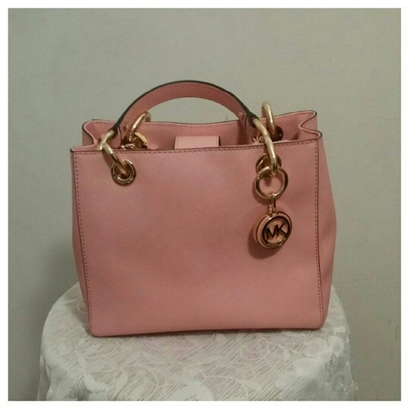 9f5e92c1a7a7 ... Cynthia Small Leather Satchel. M 56606e073c6f9f8f6b000d0b