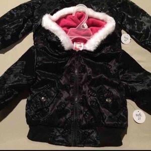 Other - Kids NWT Fleece Lined Winter Jacket 4T