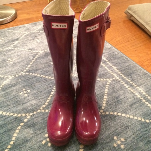 b47b9ccb9a1 Crimson original gloss hunter rain boots