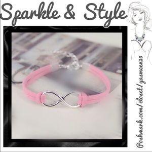 Pink infinity bracelet 🌟2 available 🌟