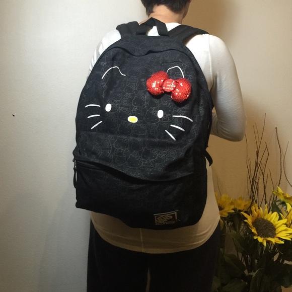 df20a05bea41 Vans X Hello Kitty Blueprint Backpack! M 565fd288fbf6f9bfaf003a31