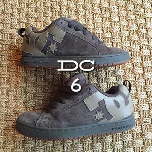 DC Shoes - DC Brown Leather Skater Shoes Court Graffik 6