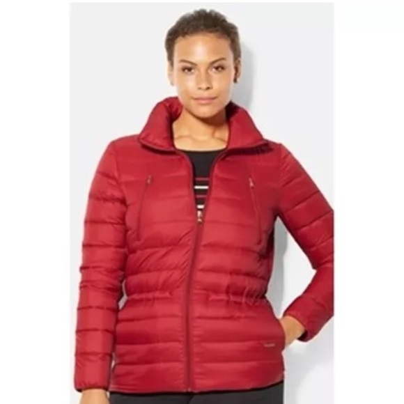 dae0b06c8b81 RALPH LAUREN Womens Down Jacket Drawstring Waist L