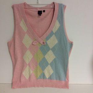 LuLu Sweaters - LuLu Soft V Neck Sweater Vest Size Med.