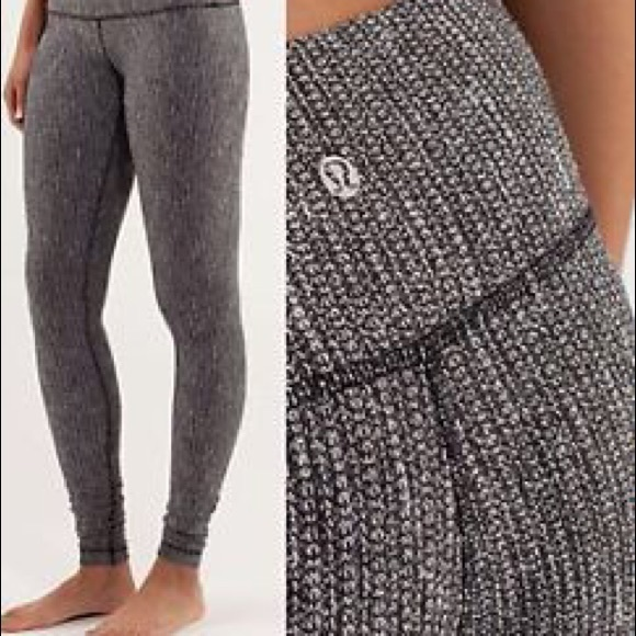 3730cabd34 lululemon athletica Pants - Lululemon wunder under coco pique high rise size  6