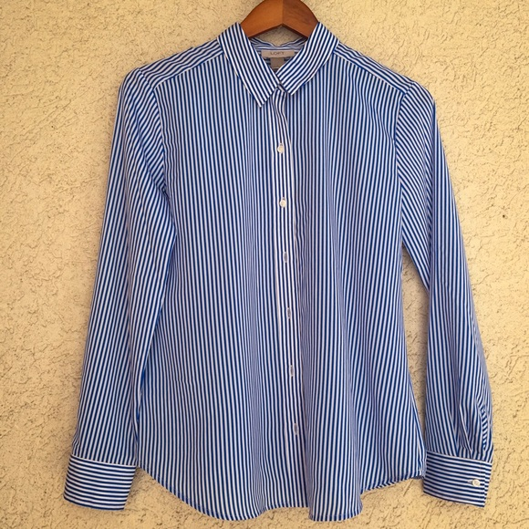 LOFT Tops - LOFT Striped Shirt, size S
