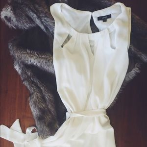 CLEAR OUT SALE!!! Cut Out White Dress