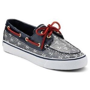 Sperry Topsider Blue Bahama Boat Shoes