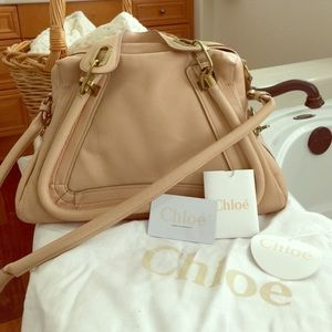 51% off Chloe Handbags - Authentic Chloe Paraty medium bag-Angora ...