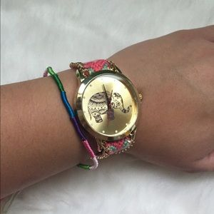 Geneva Accessories - 🆕Boho elephant watch