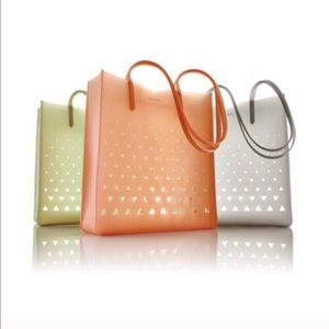 Eddie Borgo Handbags - New Designer Eddie Borgo Jelly Tote Bag Pink