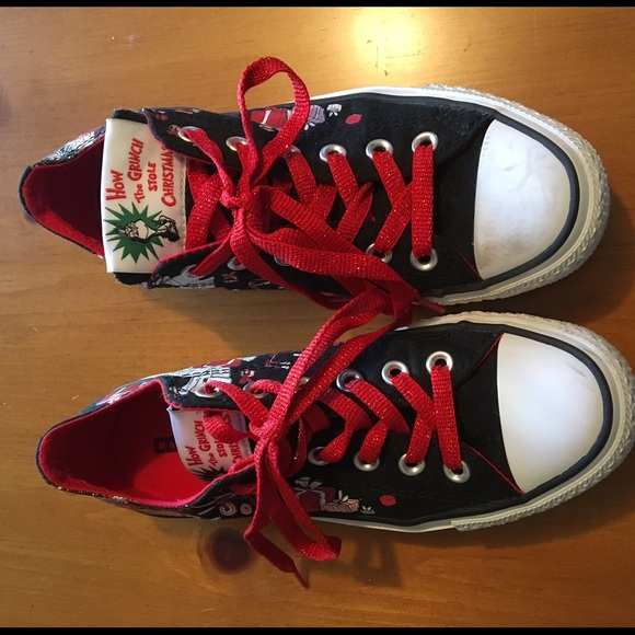 56eb869d81bd Converse Shoes - How the Grinch Stole Christmas Converse