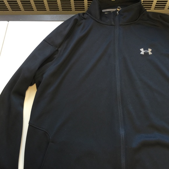 mens under armour fleece jacket