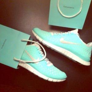 Nike Free Run 3 V4 Tiffany Blue