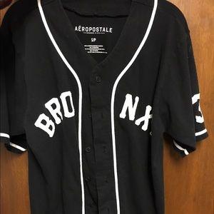 Aeropostal bronx baseball shirt