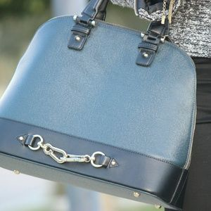 just fab  Handbags - Navy blue bag