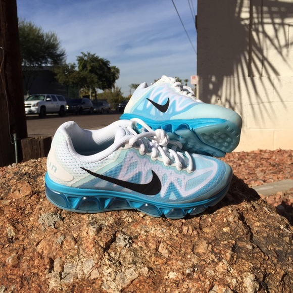 ... womens nike air max tailwind 7 blue ...