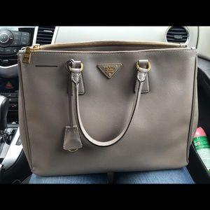 prada saffiano vernice promenade crossbody bag red - 53% off Prada Handbags - ?? PRADA MUSTARD YELLOW POLLINE SAFFIANO ...