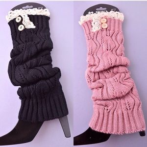 Accessories - Knit leg warmers. Perfect for the coming winter.