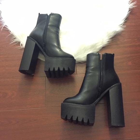 Chunky Platform Boots | Poshmark