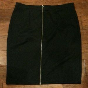 b028c51ce0f Halogen Skirts - Halogen Zip back knit skirt plus size (126)