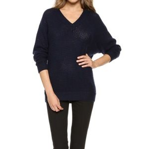 NWT Navy Vince Cashmere Blend Sweater