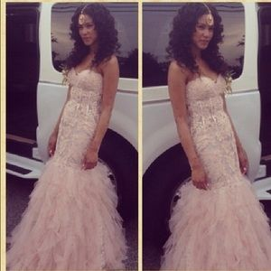 Dresses & Skirts - Blush pink gown ...make me an offer