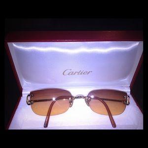 e9e9ca9de16 Cartier Accessories - AUTHENTIC CARTIER TIMELESS (SUN)GLASSES FRAME