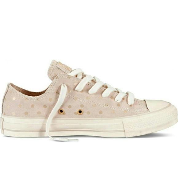ec33388bd1cb8b Converse Shoes - Converse Chuck Taylor Gold Foil Polka Dots Sneaker
