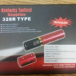 Kentucky tactical Accessories - New Faux Lipstick Flashlight self defense tool