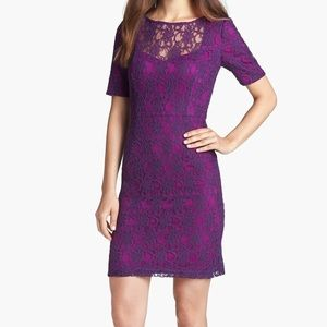 Ivy & Blu Lace Sheath Dress