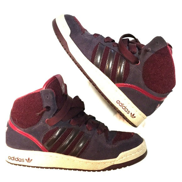 le adidas vecchia scuola alta scarpa sz 7 poshmark