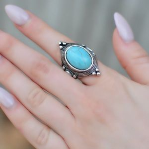 Antique Silver Statement Ring