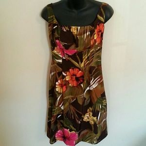 Connected Apparel Dresses & Skirts - Beautiful Tropical Design Dress