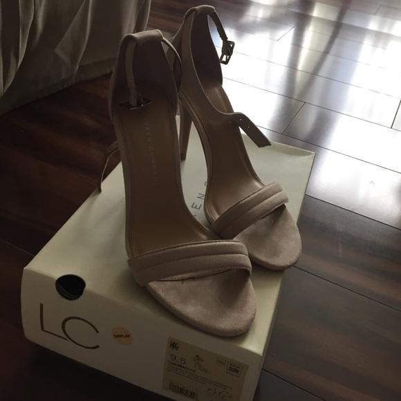 c019e0b31b9 Lauren conrad Shoes - Nude Lauren Conrad platform peep toe heels