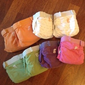 G-diapers Other - 8 g-diapers (cloth diapers) sz small