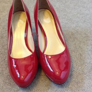a5de04eb2b77 Cole Haan Shoes - Gorgeous Red Cole Haan Heels. NWOB