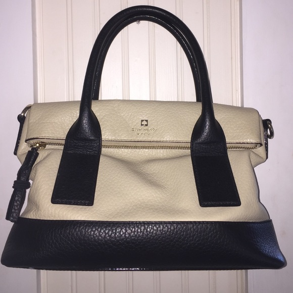 55% off kate spade Handbags - Tan and black Kate Spade purse from ...