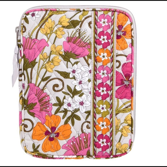Vera Bradley E-Reader Tablet Sleeve Tea Garden NWT NWT