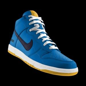 18% off Nike Shoes - BRAND NEW custom nike sd chargers dunks from ...