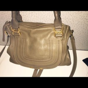 Chloe Marcie Medium Satchel.