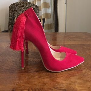 Jessica buurman  Shoes - 🎉1day only sale🎉Tassel heel pumps