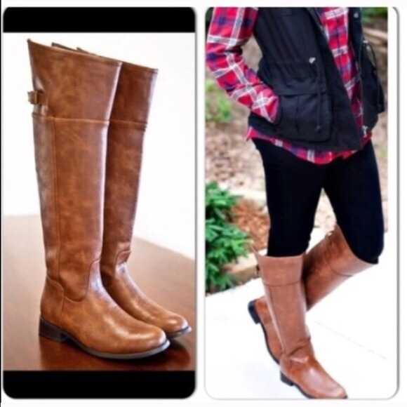 Knee Riding Boots