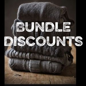 Ask me for a bundle discount!