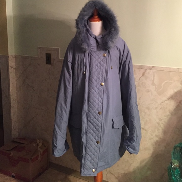 1aafdc67586 Outdoor Elements Jackets & Coats | Fur Lined 5x Blue Winter Down ...