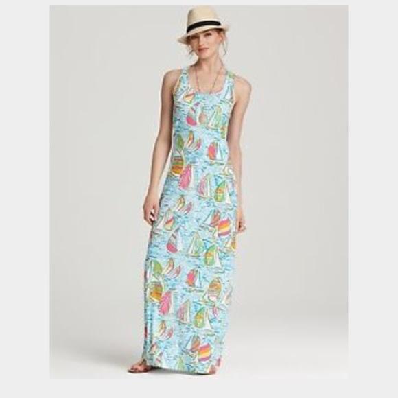 Lilly Pulitzer - You gotta regatta Lilly Pulitzer maxi dress from ...